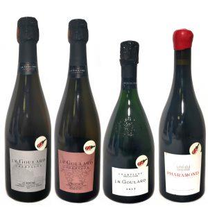 Goulard Champagne Tasting Set
