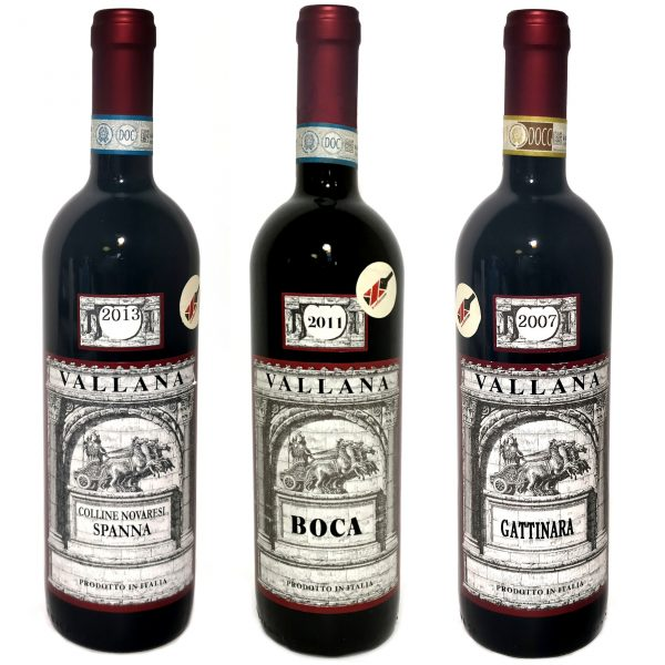 Vallana Tasting Set Nebbiolo